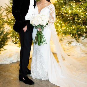 Pronovias Atelier wedding gown with veil